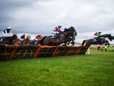Be part of the action at Chepstow Racecourse