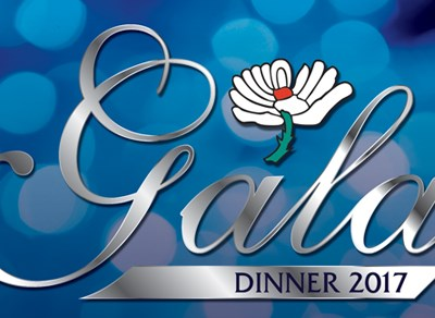 Enjoy the Yorkshire CCC Gala dinner