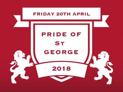 Pride of St George returns in 2018