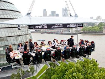 Panoramic views of London