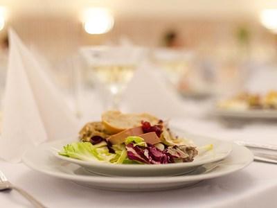 Superb cuisine on offer