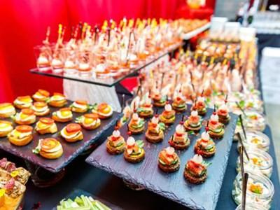 Sumptuous cuisine on offer
