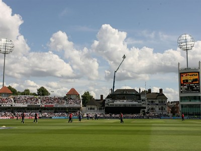 England in action at Trent Bridge