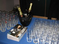 Champagne and souvenir programme