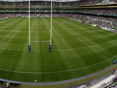 Game at the Aviva Stadium
