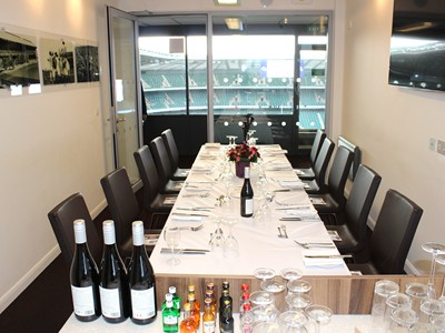 Exclusive corporate hospitality in the Twickenham executive boxes