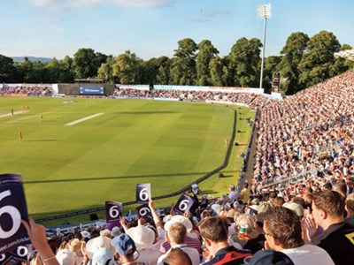 Enjoy the best views at Swalec for the ODI