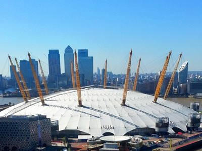 Entertain guests in style at London's iconic O2 Arena